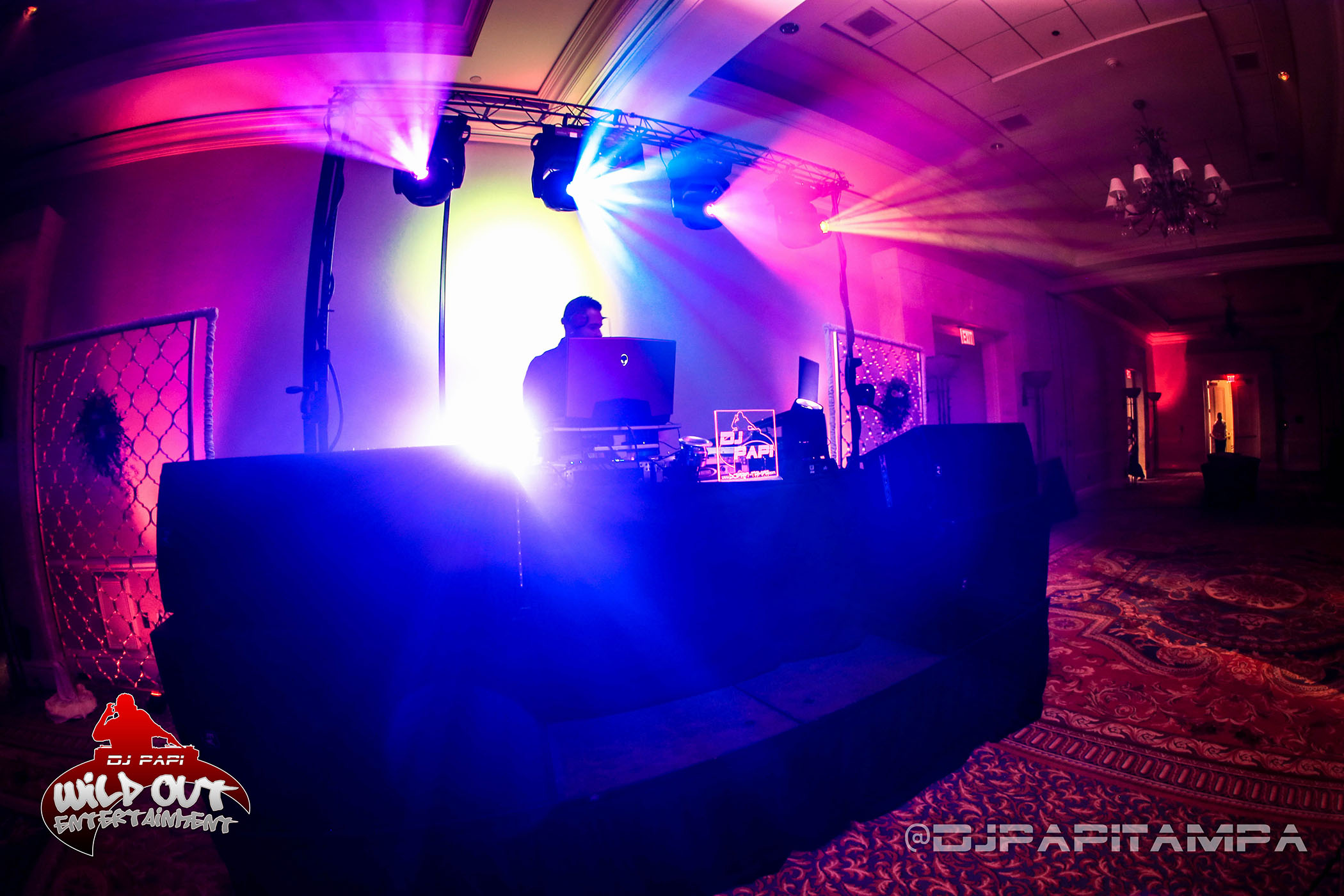 DJ Papi at a Wedding at the Waterside Marriott