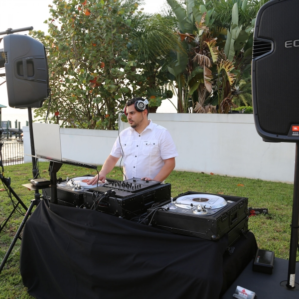 DJ Dex Waterside for a Private Birthday Party